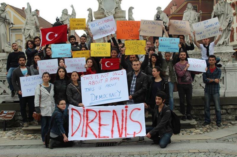 Her yer Taksim, Her yer Direniş 14
