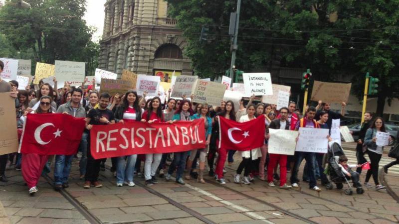 Her yer Taksim, Her yer Direniş 17