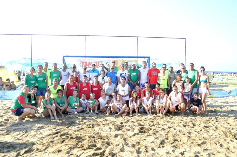TAMSU Plaj Futbol Turnavası 1