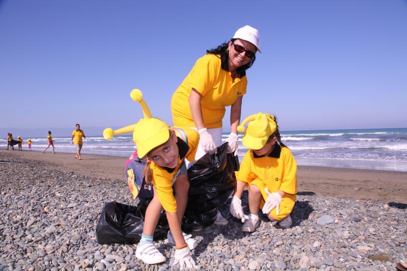 Sahiler temiz, kaplumbağalar koruma altında 4