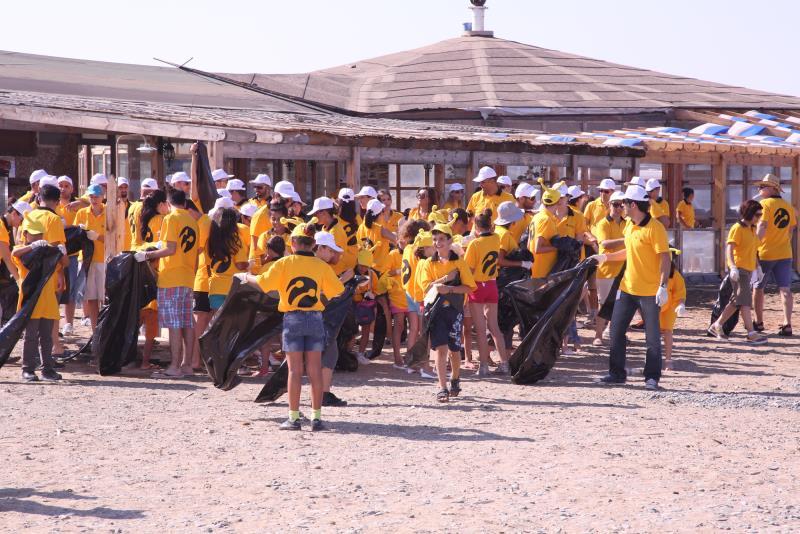 Sahiler temiz, kaplumbağalar koruma altında 5