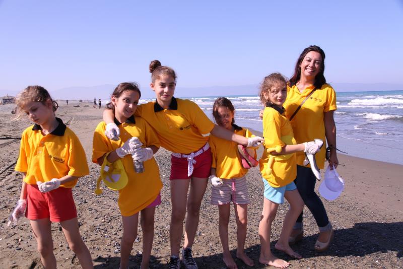 Sahiler temiz, kaplumbağalar koruma altında 6