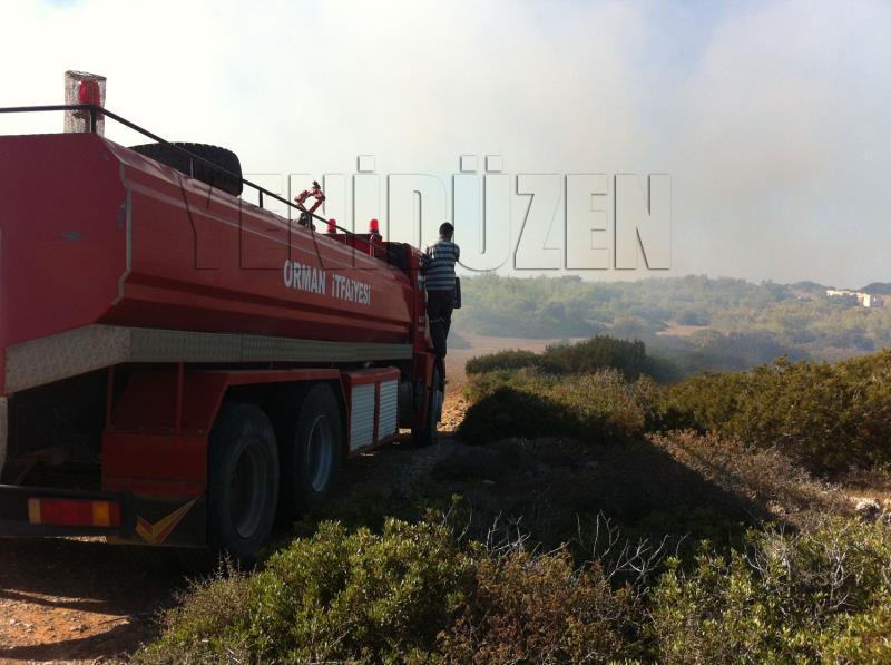 Sadrazamköyde yangın 3