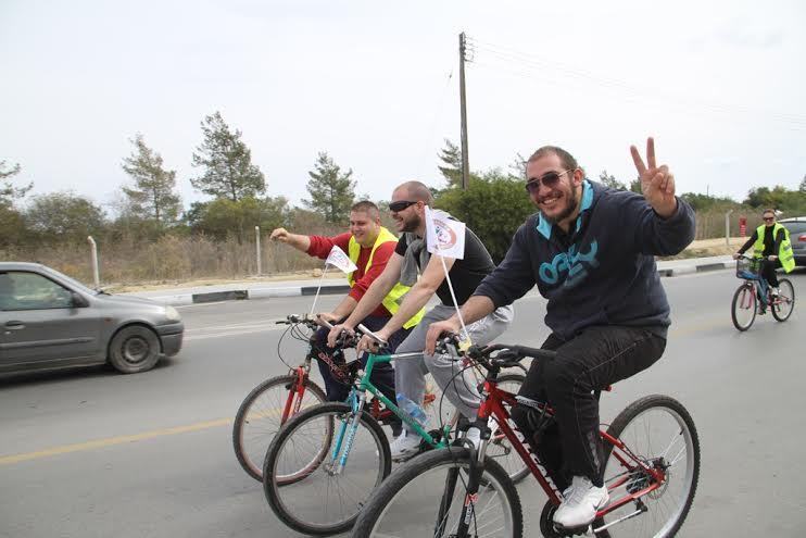 Pedaller barış için çevrildi 17