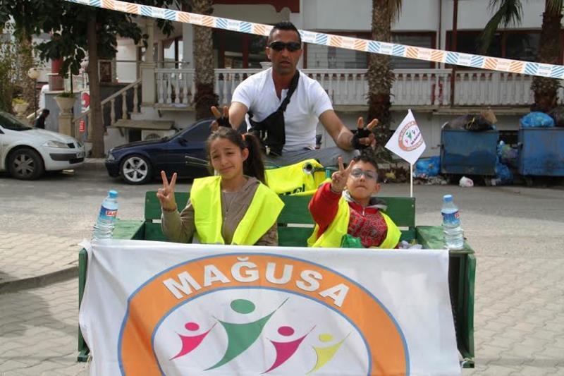 Pedaller barış için çevrildi 6