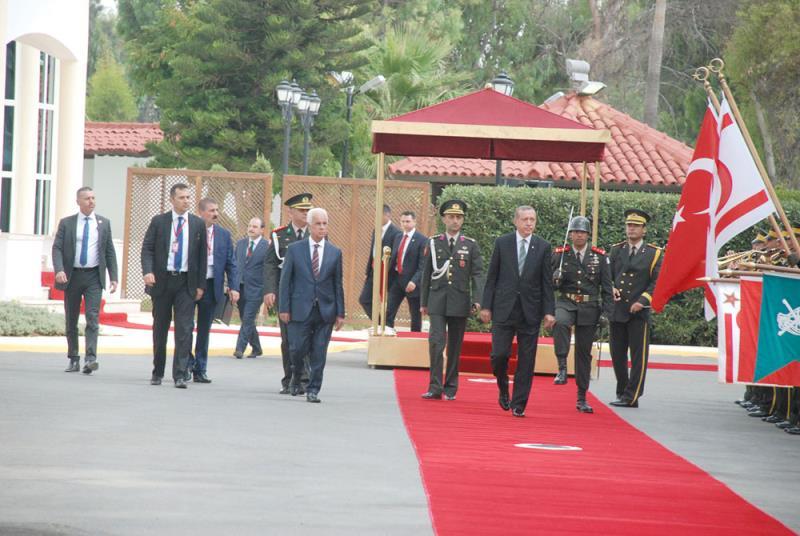 TC Cumhurbaşkanı Erdoğan Kuzey Kıbrıs ziyareti 4