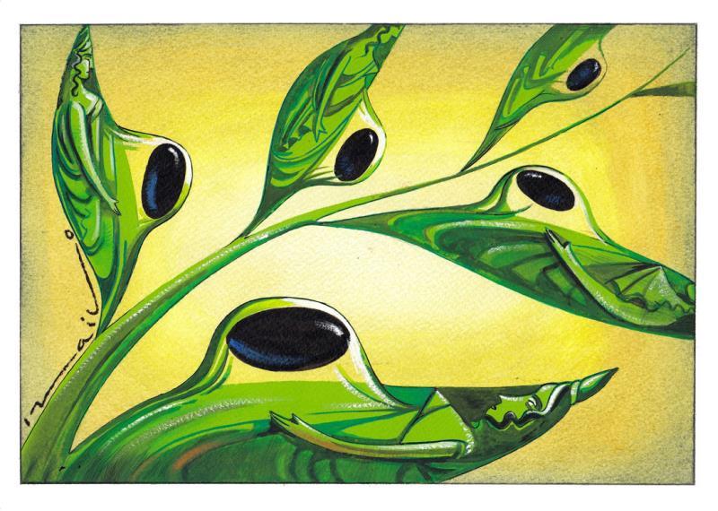 3. Uluslararası Zeytin Karikatürleri Yarışması 16