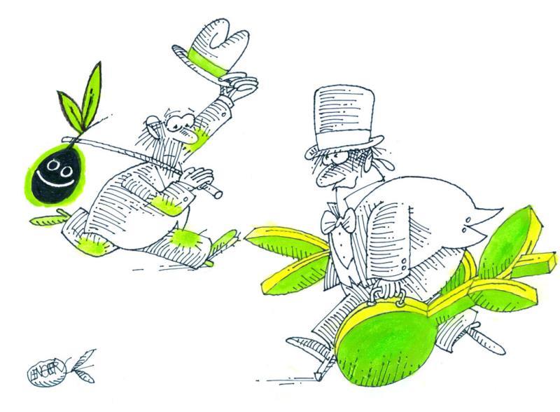 3. Uluslararası Zeytin Karikatürleri Yarışması 8