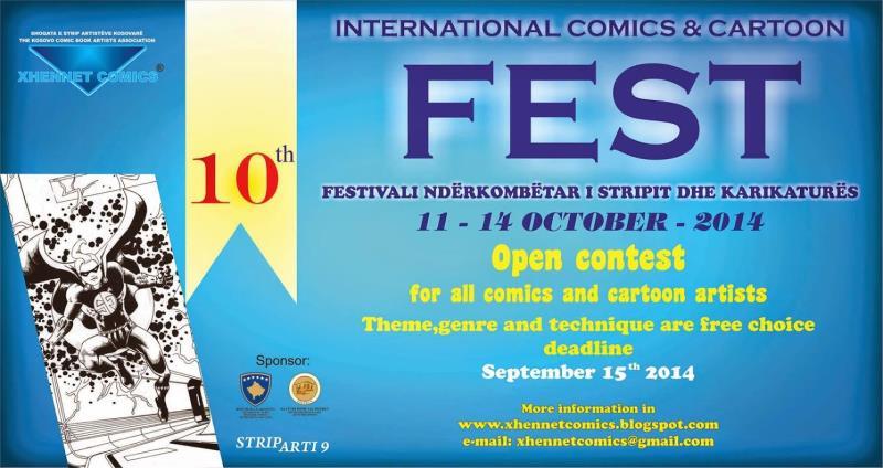 XHENET Çizgi Roman v e Karikatür Festivali 16
