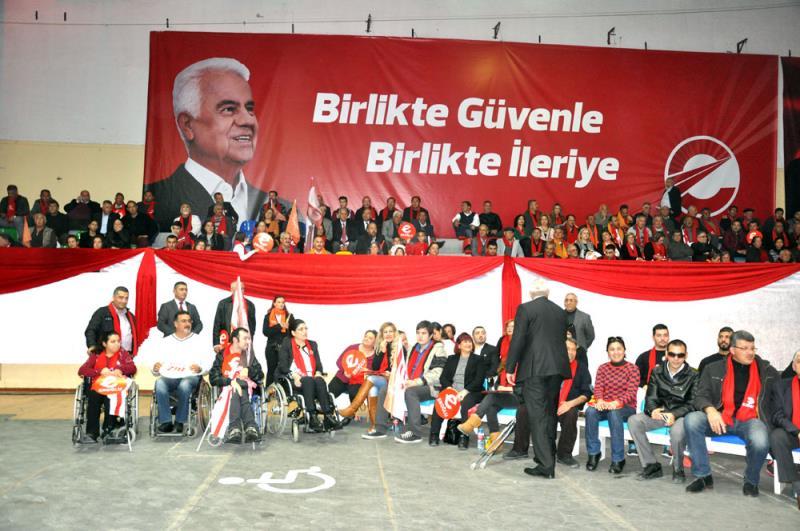 Eroğlu seçim kampanyasını başlattı 4