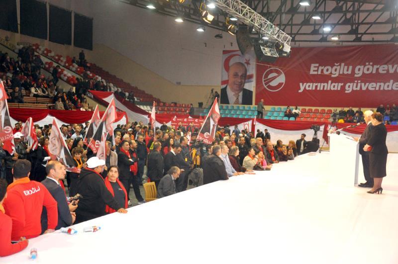 Eroğlu seçim kampanyasını başlattı 5
