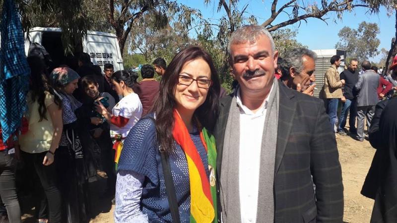 İskelede Newroz ateşi yakıldı 5