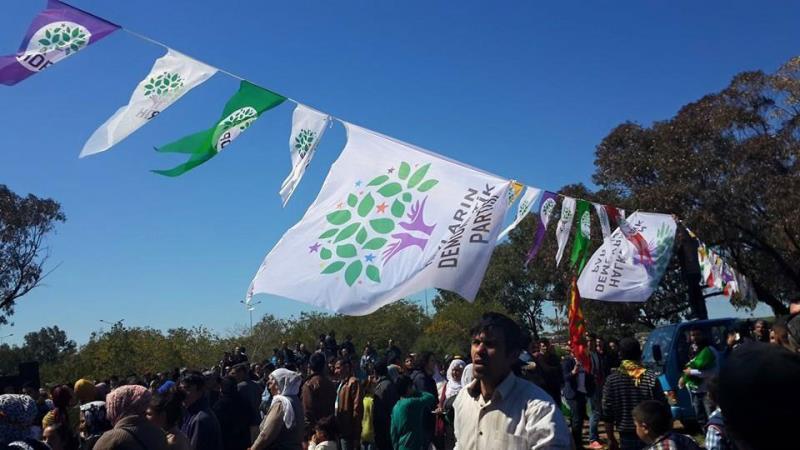 İskelede Newroz ateşi yakıldı 8