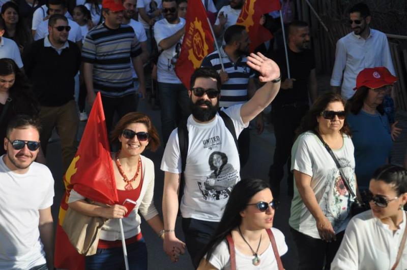 1 Mayıs Taksim Sahasında kutlandı 12