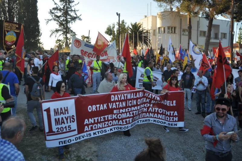 1 Mayıs Taksim Sahasında kutlandı 16