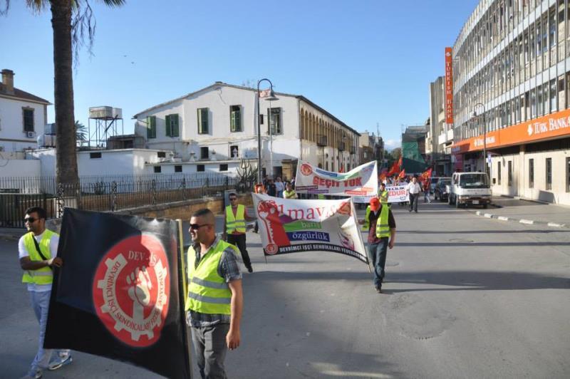 1 Mayıs Taksim Sahasında kutlandı 19