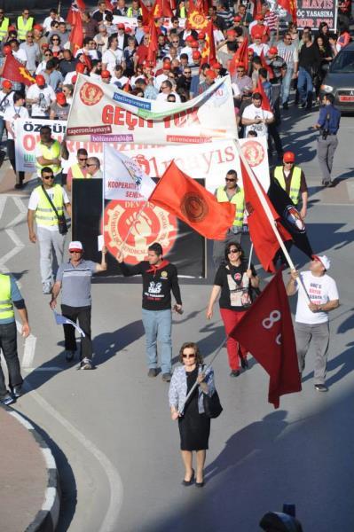 1 Mayıs Taksim Sahasında kutlandı 22