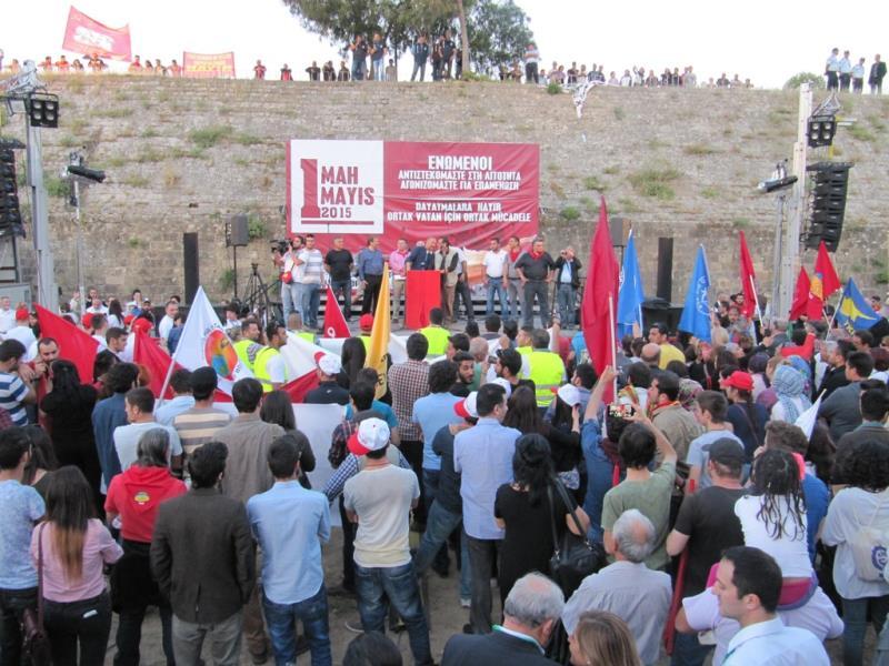 1 Mayıs Taksim Sahasında kutlandı 27