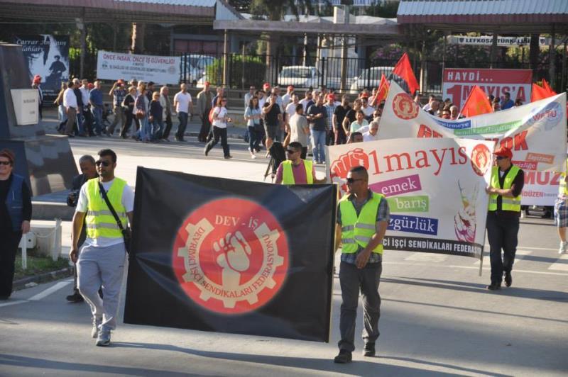 1 Mayıs Taksim Sahasında kutlandı 4