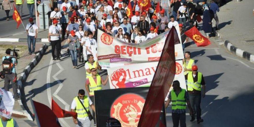 1 Mayıs Taksim Sahasında kutlandı