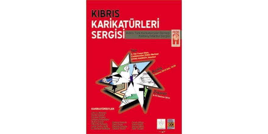 Kıbrıs Karikatürleri İstanbul'da Sergileniyor...