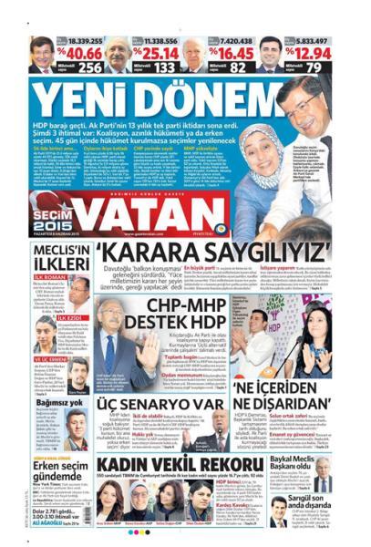 Türkiye Seçim 2015 11