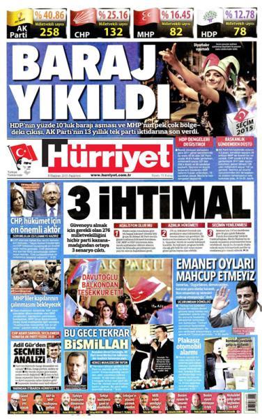 Türkiye Seçim 2015 6