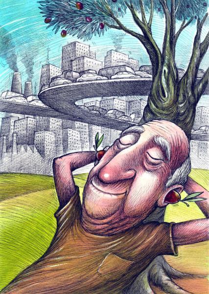 4. Uluslararası Zeytin Karikatürleri Yarışması 2015 12