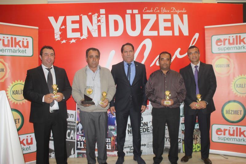 YENİDÜZEN Spor Ödülleri 2015 13
