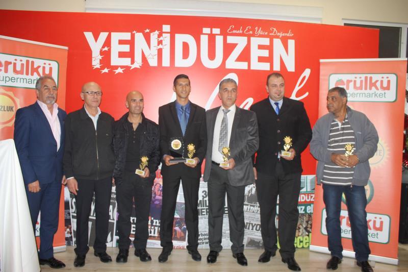 YENİDÜZEN Spor Ödülleri 2015 16