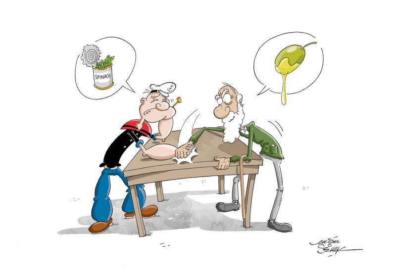 Zeytin Karikatürleri Yarışması 2016 1