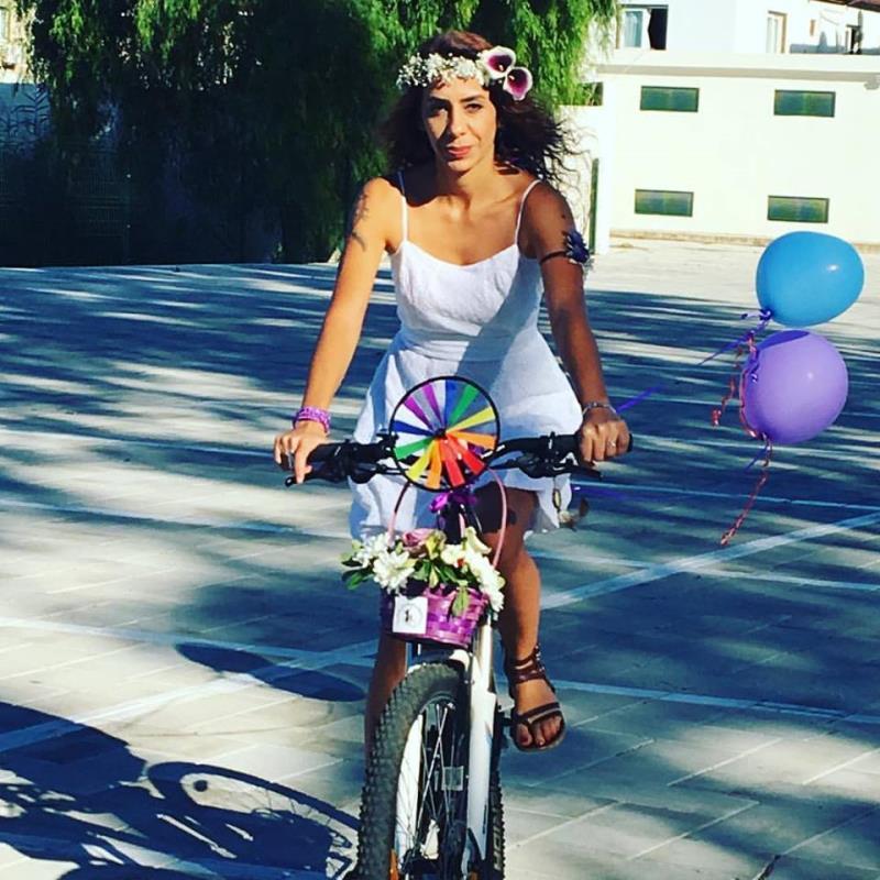 Kadınlar, bisikletleri ile sokaklardaydı 11