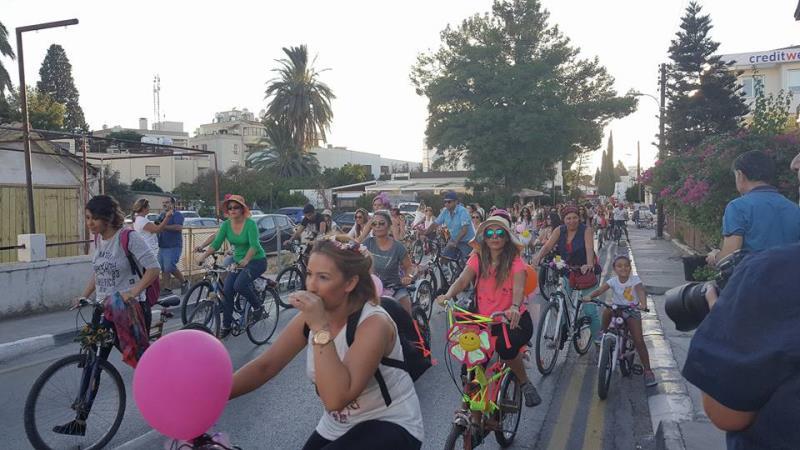 Kadınlar, bisikletleri ile sokaklardaydı 3
