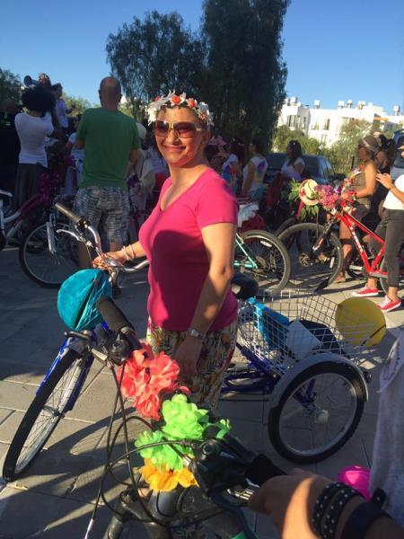Kadınlar, bisikletleri ile sokaklardaydı 9
