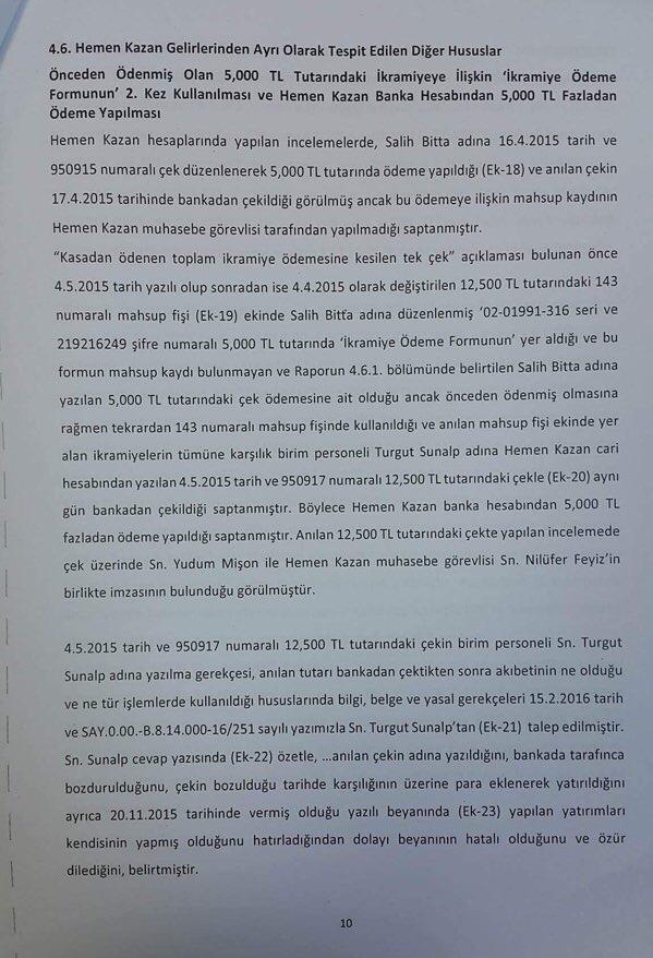 Devlet Piyangosu Sayıştay Raporu 13