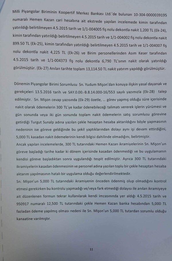 Devlet Piyangosu Sayıştay Raporu 14
