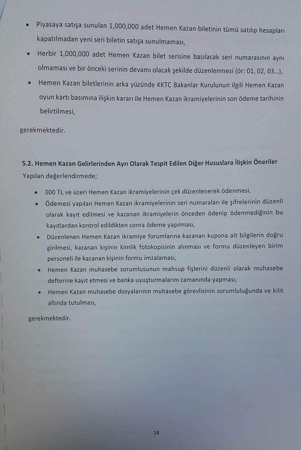 Devlet Piyangosu Sayıştay Raporu 17