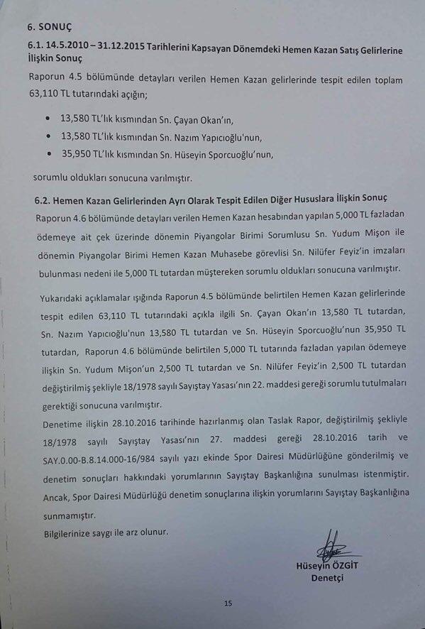 Devlet Piyangosu Sayıştay Raporu 18