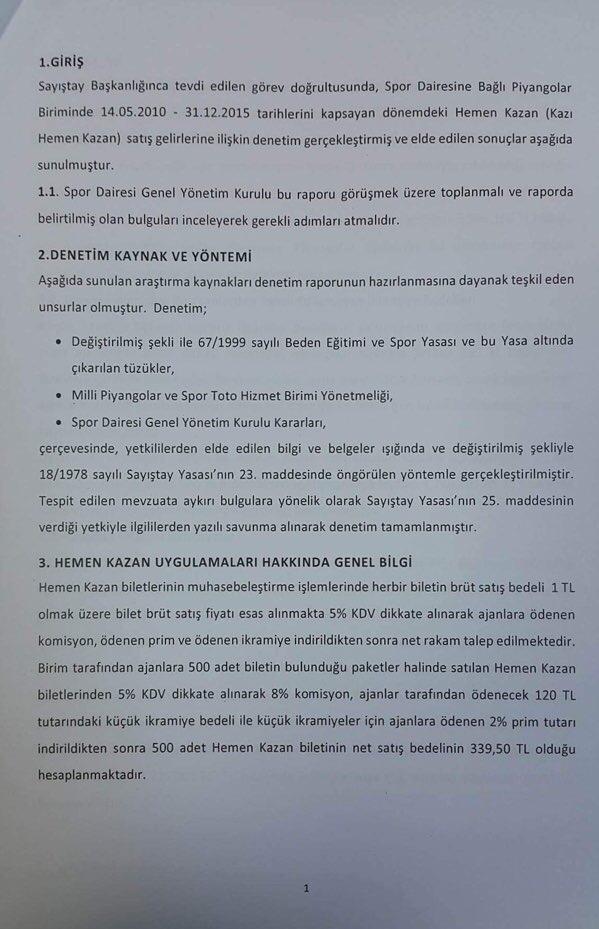 Devlet Piyangosu Sayıştay Raporu 4