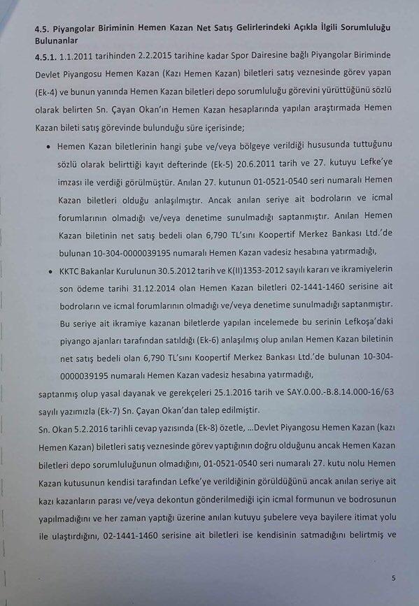 Devlet Piyangosu Sayıştay Raporu 8