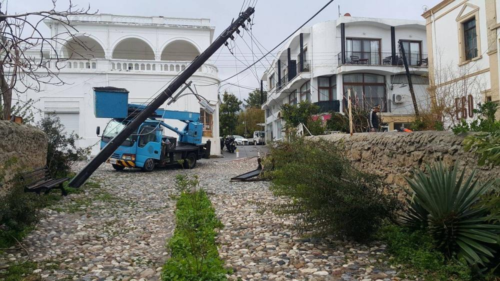 Girne'den felaket görüntüleri 10