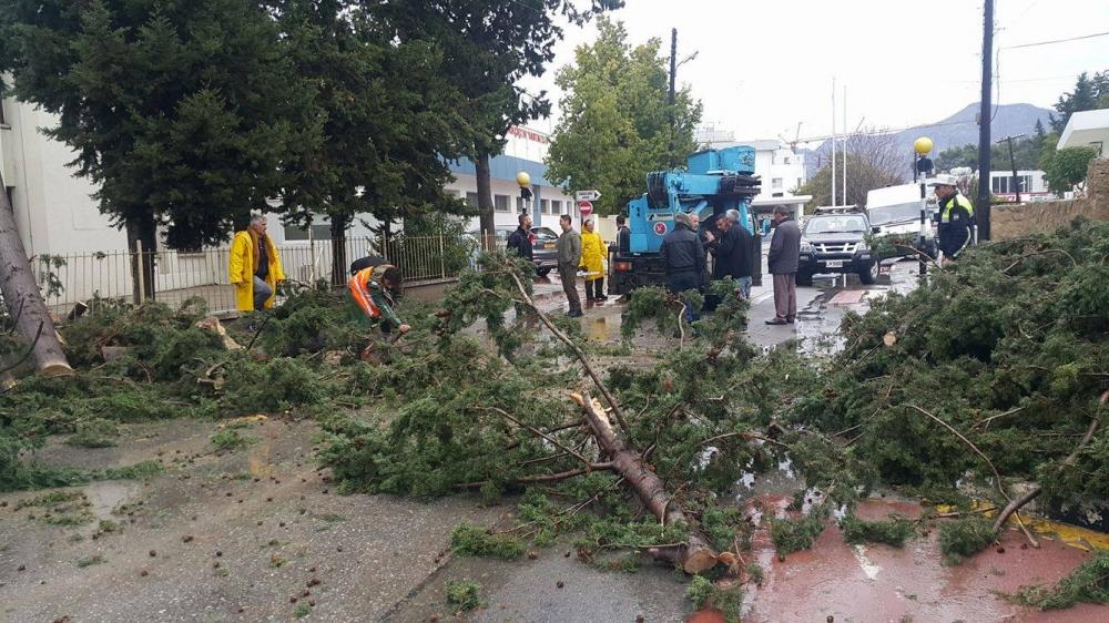 Girne'den felaket görüntüleri 6