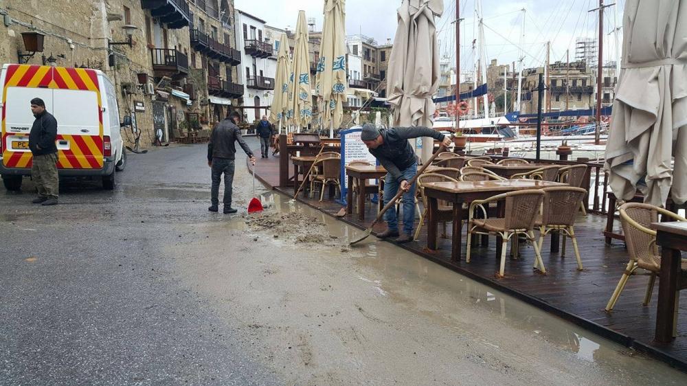 Girne'den felaket görüntüleri 8