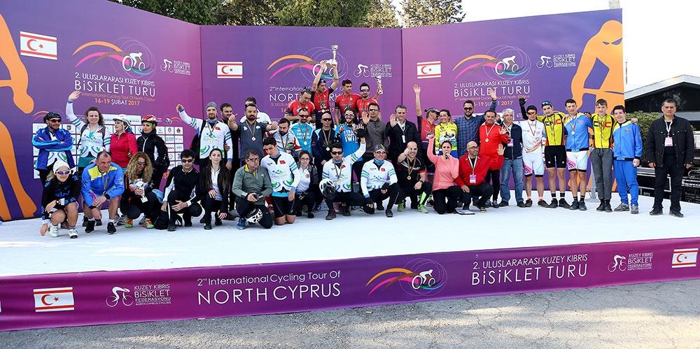 Kıbrıs'ın kuzeyi bisiklete doydu 10