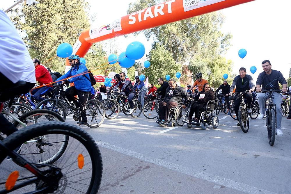 Kıbrıs'ın kuzeyi bisiklete doydu 4