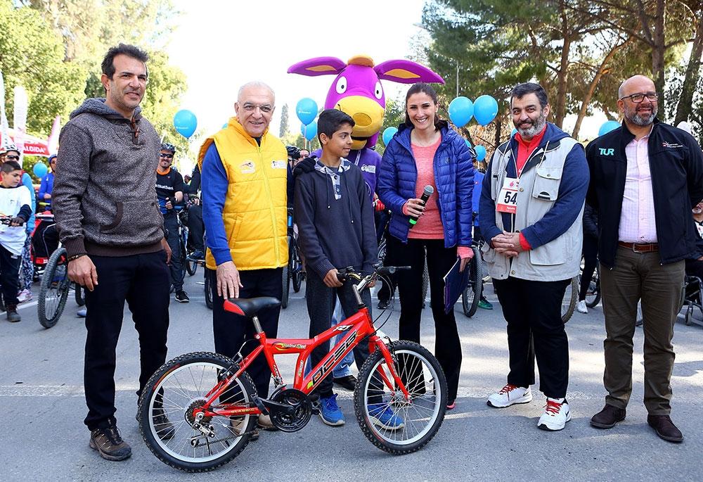 Kıbrıs'ın kuzeyi bisiklete doydu 5