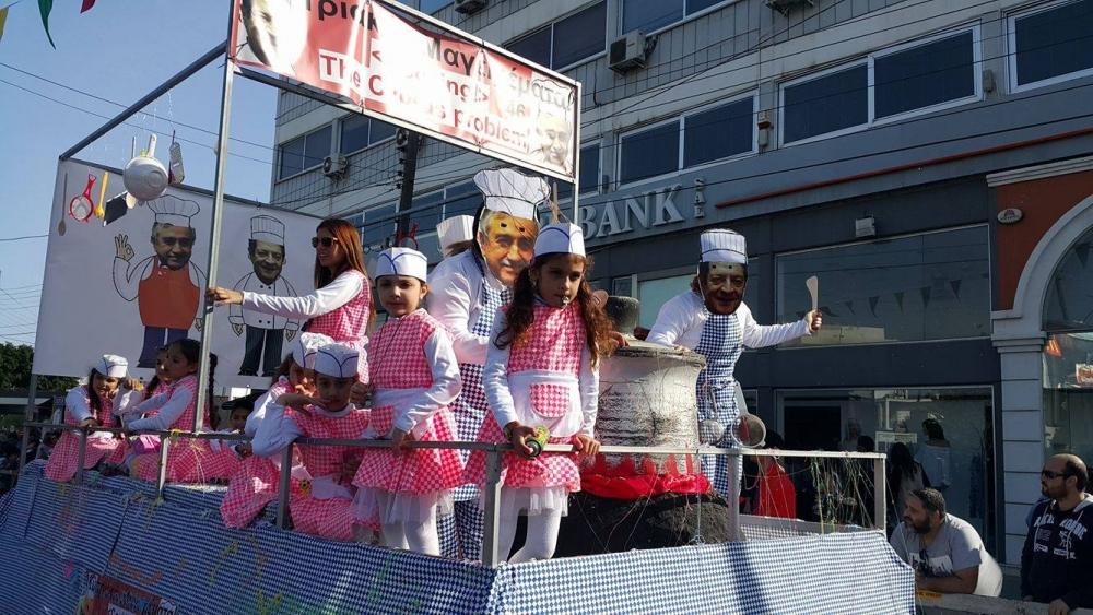 Limasol Karnavalı'ndan görkemli final 1