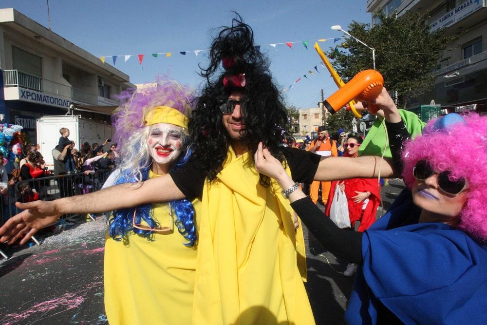 Limasol Karnavalı'ndan görkemli final 2