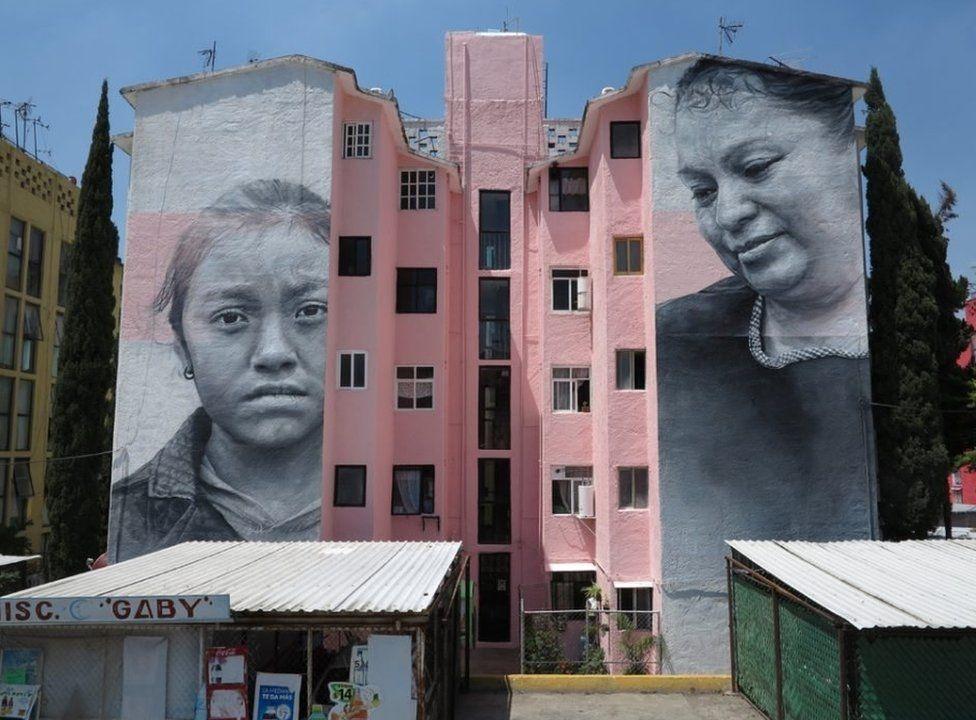 Binaları tuval yapan sanatçı 3