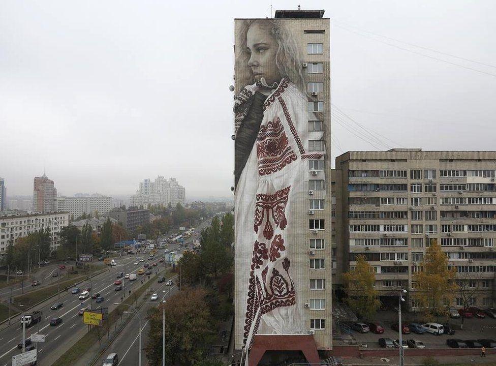 Binaları tuval yapan sanatçı 5